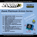 Zoom Platinum Artists - Volume 73 (Hits Of The Scissor Sisters & The Darkness)