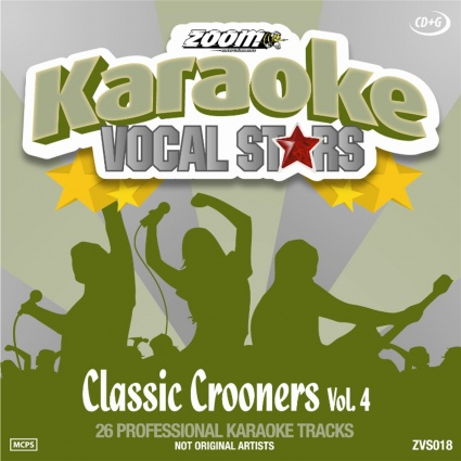 Zoom Karaoke - Vocal Stars 18 (Classic Crooners Vol. 4)