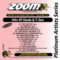 Zoom Platinum Artists - Volume 25 (Hits Of Slade & T-Rex)